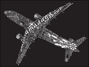 """N705i × STARFLYER """"N705i amadana便"""""""