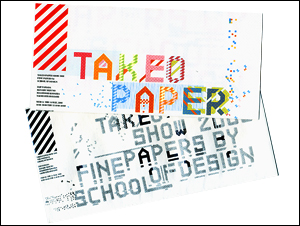 TAKEO PAPER SHOW 2008 インビカード