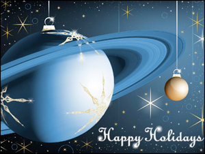 Happy Holidays From Cassini!