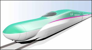 新型高速新幹線車両E5系