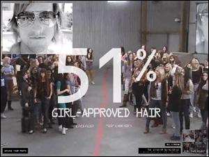 Axe 100 Girls - AXE HAIR CRISIS RELIEF