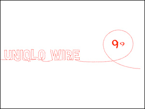 UNIQLO WIRE #01 Hello BRA TOP