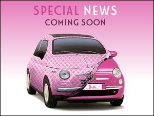 トレジャーハント Barbie × FIAT 500 スペシャルニュース