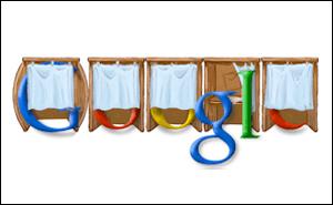 Google 衆議院議員選挙の投票日