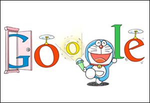 Googleドラえもんの誕生日