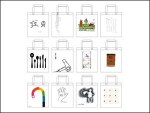 無印良品 池袋西武リニューアルオープン記念 オリジナルプリント付布製マイバッグ