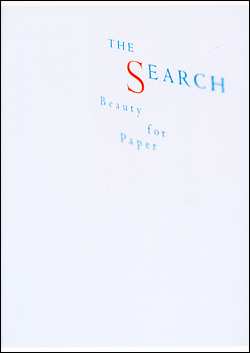THE SEARCH – Beauty for Paper