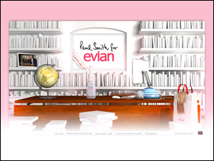 Paul Smith for EVIAN