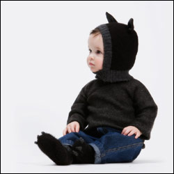Oeuf -ANIMAL HAT AND BOOTIES