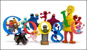 Google セサミストリート40周年