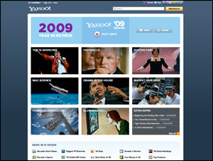 Yahoo! Year in Review 2009