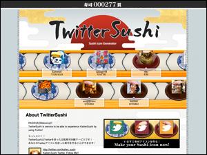 TwitterSushi