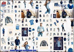 H&M   THE BLUES