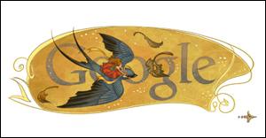Google  ハンス・クリスチャン・アンデルセンの誕生日