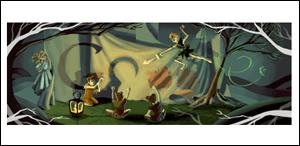 Google ジェームス・マシュー・バリー生誕150周年