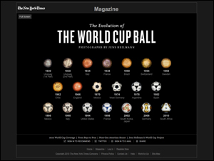 The Evolution of the World Cup Ball - Interactive - NYTimes.com