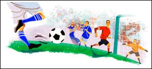 Google World Cup 2010