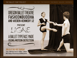 gThe Ballet Font Project