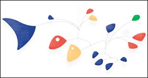 Google アレクサンダー・カルダーの誕生日