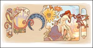 Google アルフォンス・ミュシャの誕生日