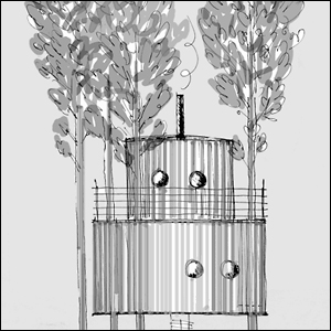 The Tree Sauna - Treehotel