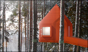 The Blue Cone - Treehotel