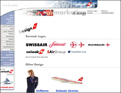 Swissair - The Ultimate Fansite
