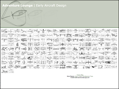 adventurelounge.com - Early Aircraft Design