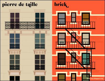 la façade - Paris vs New York, a tally of two cities