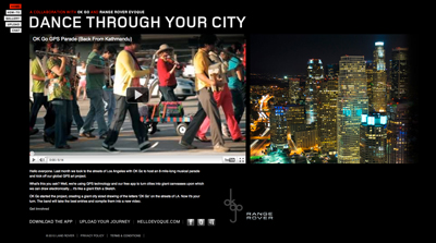 Range Rover Evoque | Dance through your city