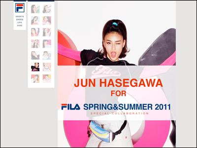 JUN HASEGAWA 2011 SPRING&SUMMER
