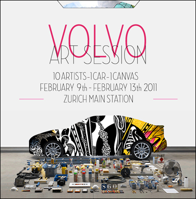 VOLVO ART SESSION 2011
