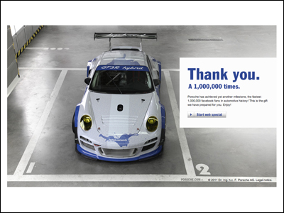 Thank you. A 1,000,000 times