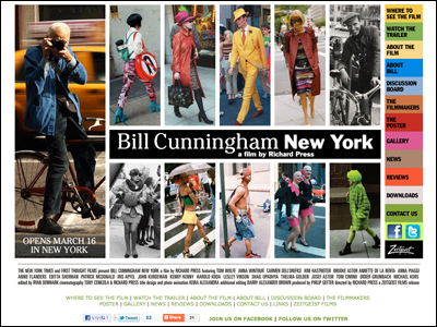 Zeitgeist Films :: Bill Cunningham New York :: a film by Richard Press