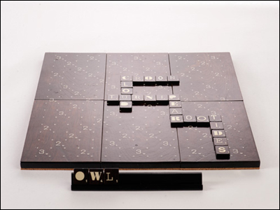 The A-1 Scrabble designer edition
