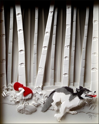 Little Red Riding Hood - 8inx 10in Giclee print