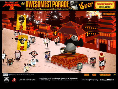 The Awesomest Panda Parade Ever – Dreamworks Kung Fu Panda 2