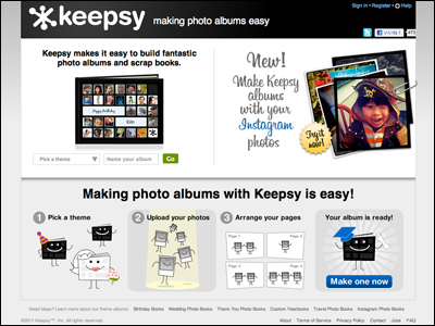 Making photo albums easy | Keepsy