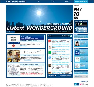 LISTEN! WONDERGROUND