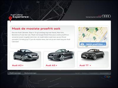 Audi Cabrio Experience