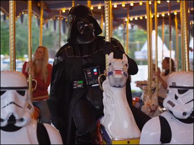 Star Tours: Darth Vader goes to Disneyland