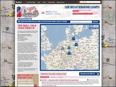 Red Bull Cola Schatzsuche :: Red Bull Deutschland