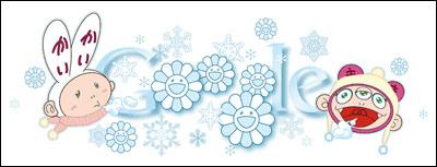 Winter Solstice. Doodle by Takashi Murakami, 2011.