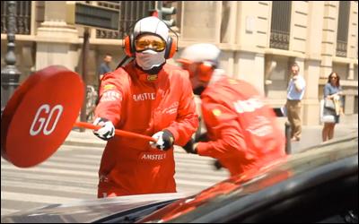 Amstel Sin - Parada en Boxes Valencia Street Circuit sorprendente