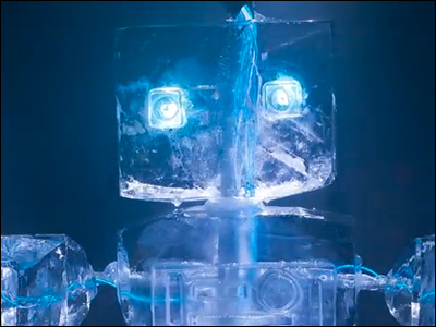 Ice Robot Comes To Life - By J.A.M.I.E.