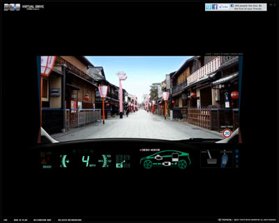 Virtual Drive - HYBRID in Kyoto