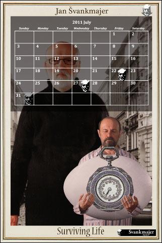 シュヴァンクマイエル・カレンダーアプリ