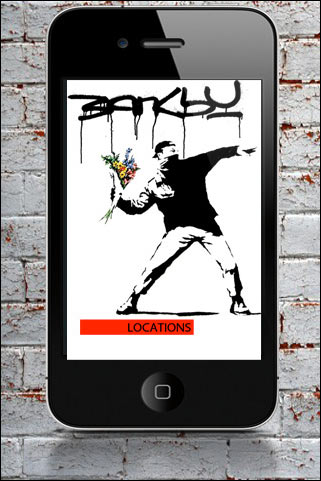 Banksy-Locations