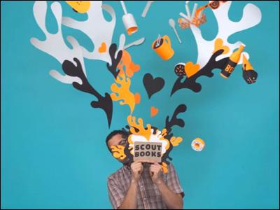 Scout Books: Papercraft Animation: François Vigneault