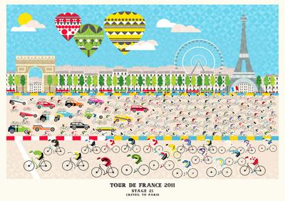 Tour Stage 21